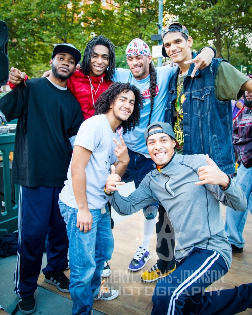 The Project 401 Family, B Boy Abel, B Boy Jurrassick, B Boy FaCce, B Boy Largo, B Boy Sydsho, B Boy Mike Figs